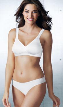 Invisivle Unterwäsche in Beige und Weiß