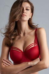 Marlies Dekkers Dame de Paris red Balconette BH