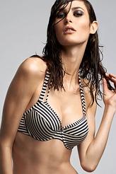 Marlies DekkersHoli Vintage bluePush-Up-Bikini-Oberteil
