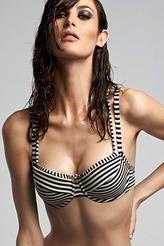 Marlies DekkersHoli Vintage bluePlunge Balconette Bikini-Oberteil
