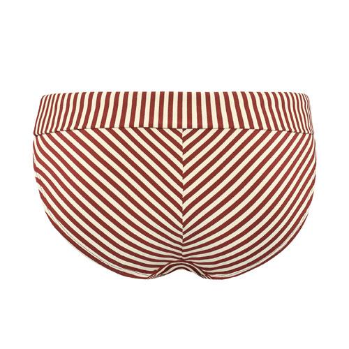 Abbildung zu fold down Bikini-Slip (18184) der Marke Marlies Dekkers aus der Serie Holi Vintage red ecru