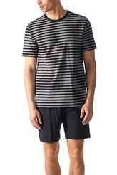Mey HerrenwäscheNight BasicPyjama kurz, Streifen