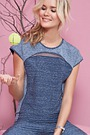 Cheek Damen Funktionswäsche Sport-Shirt