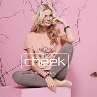 Modische Nachtwäsche und Homewear von Cheek by Lisca