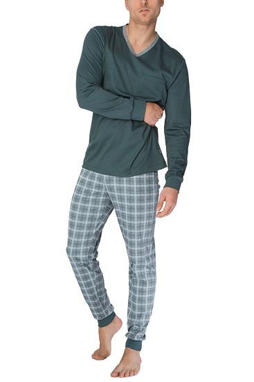 Abbildung zu Pyjama mit Bündchen (43266) der Marke Calida aus der Serie Liam