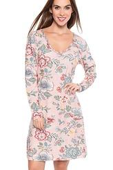 Pip StudioPip Homewear 2017Dana berry bird Nightdress long sleeve