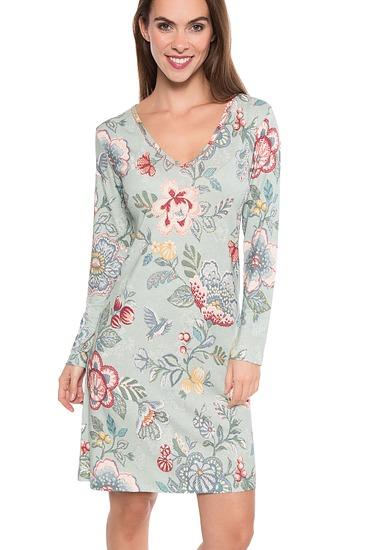 Abbildung zu Dana berry bird Nightdress long sleeve (260609-328) der Marke Pip Studio aus der Serie Homewear 2017