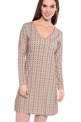 Pip Studio Pip Homewear 2017 Dana double check Nightdress long sleeve