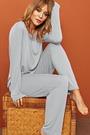 Lisca Damen Nachtwäsche Pyjama