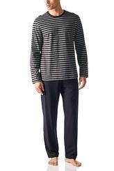 Mey HerrenwäscheNight BasicPyjama lang, Streifen