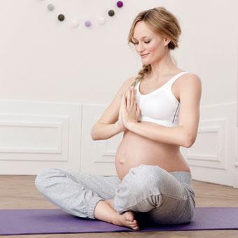 Rücken entlasten in der Schwangerschaft