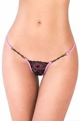 Lucky Cheeks Exklusiv String Edition Exquisite Pink Luxus String