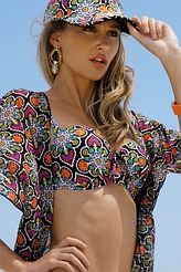 AntigelLa Mandala des IlesBandeau-Bikini-Oberteil