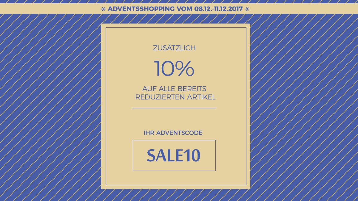 10% zusätzlich Rabatt auf Lagerware