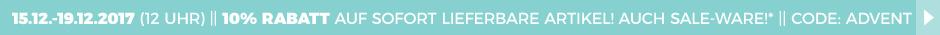 10 Prozent Rabatt auf sofort lieferbare Artikel