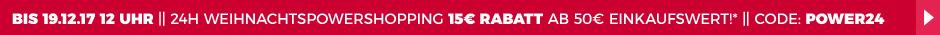 15 Euro Rabatt ab 50 Euro Einkaufswert