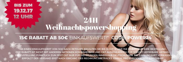 Powershopping 24 Stunden