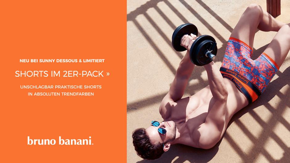 Bruno Banani Shorts im 2er-Pack