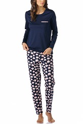Mey DamenwäscheJeanyPyjama lang