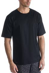 Mey HerrenwäscheBlack Classic NightShirt kurzarm, Rundhals