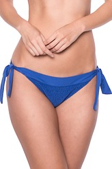 Watercult Summer Solids 18 Bikini-Slip mit Schnüren