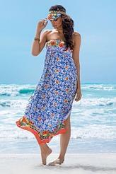 AntigelLa Folie AzulejosKleid lang