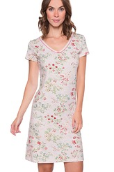Pip Studio Nightwear 2018 Djoy jaipur flower Nightdress short sleeve