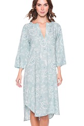 Pip Studio Nightwear 2018 Drew indian roses Nightdress 3/4 sleeve