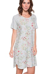 Pip Studio Nightwear 2018 Dees Jaipur flower Nightdress short sleeve