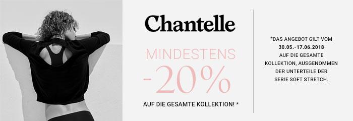 Chantelle -20% auf die Kollektion