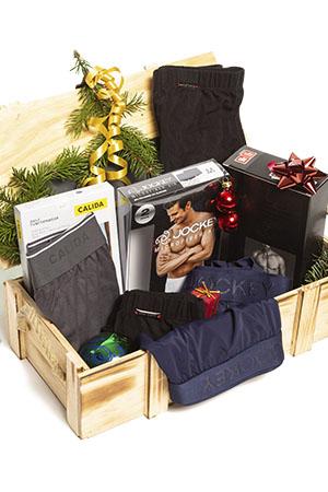 Geschenkbox für Herren, gefüllt