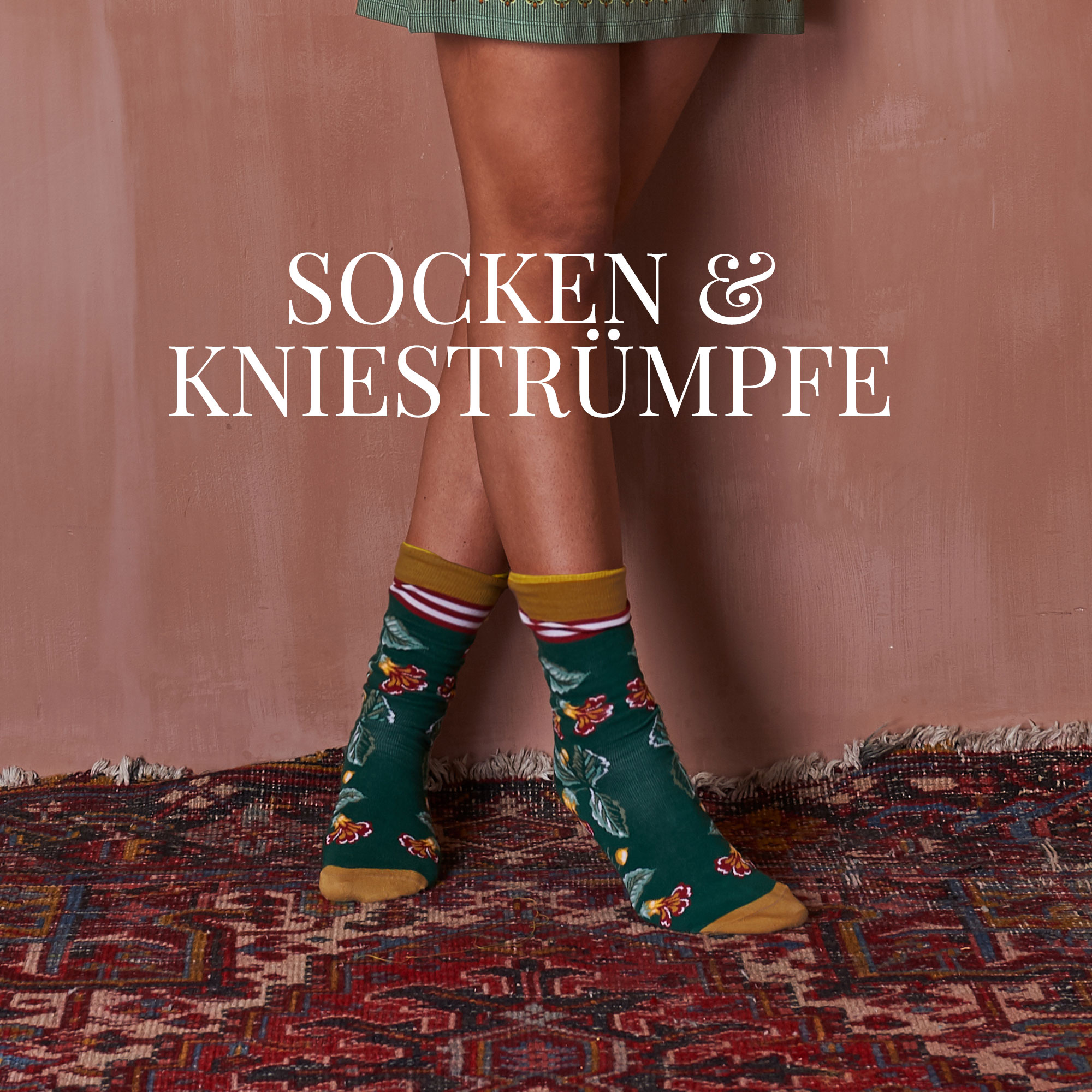 Socken und Kniestrümpfe