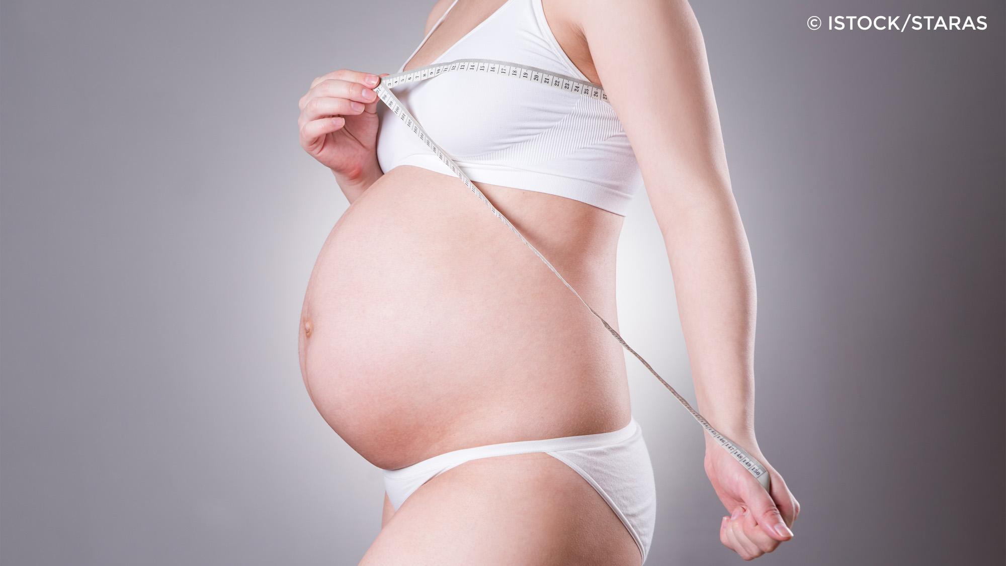 BH-Größe beim Schwangerschafts-BH messen