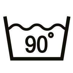 90 Grad Wäsche
