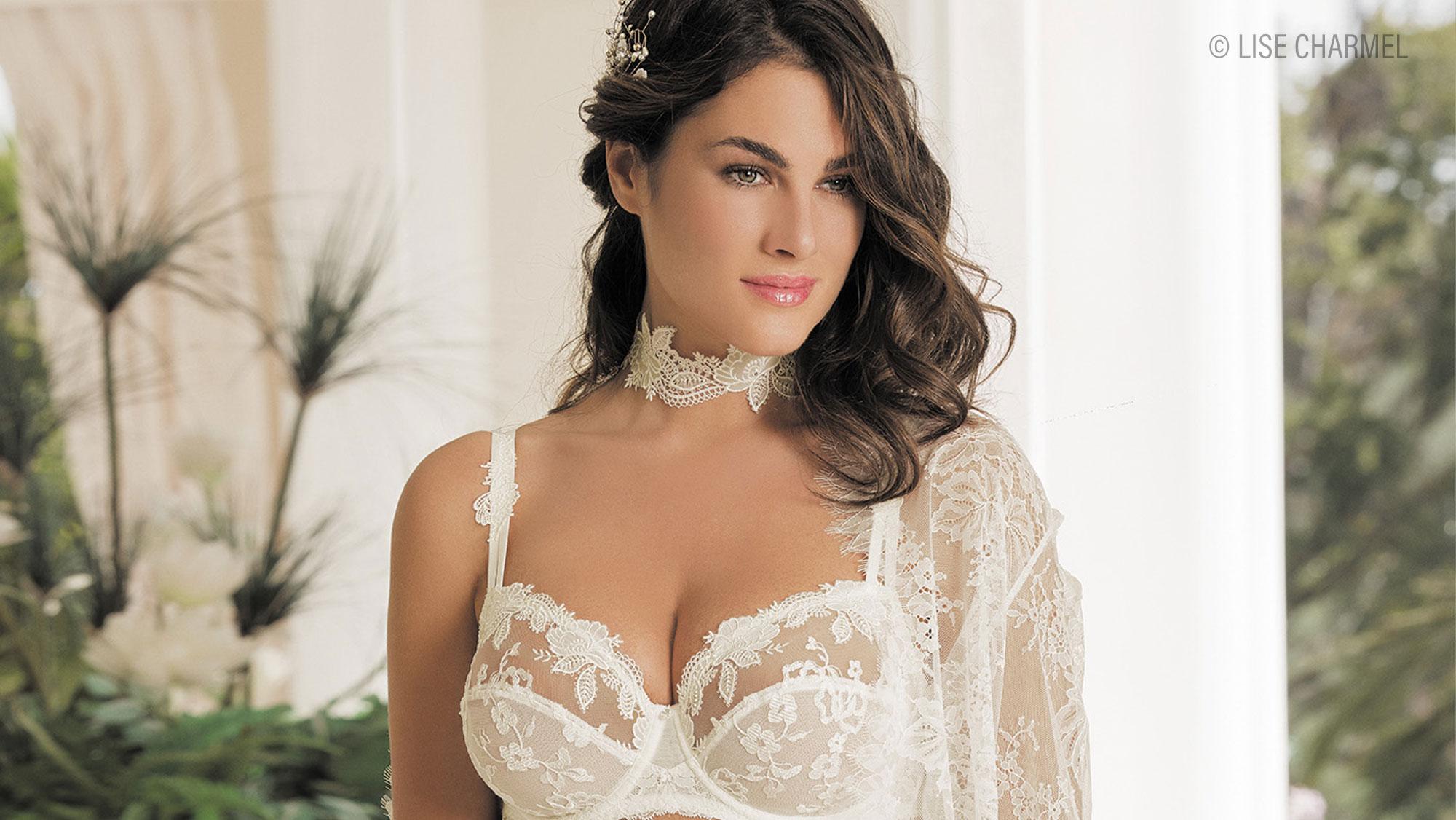 Hochzeitsdessous für die Braut