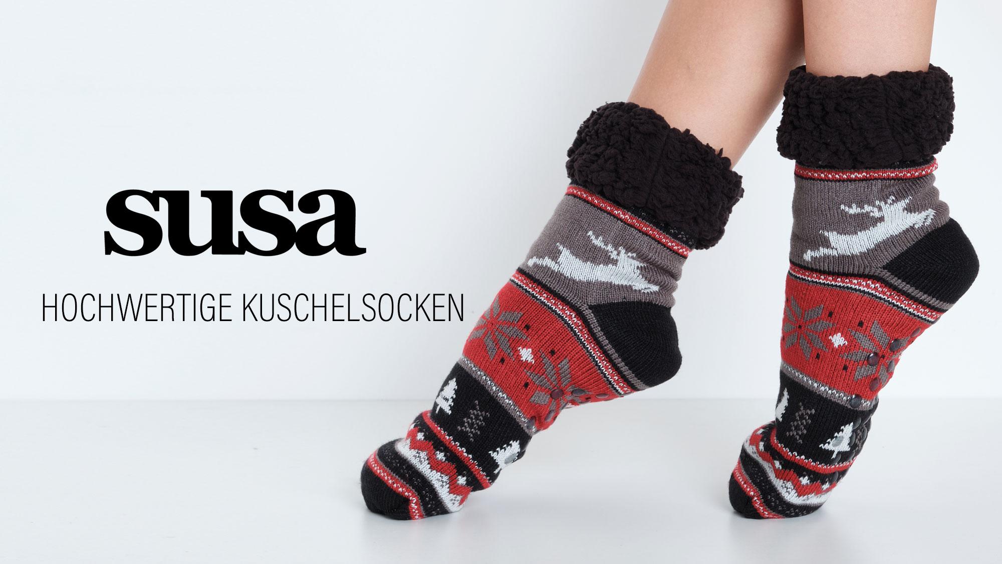 Susa Kuschelsocken Winteredition