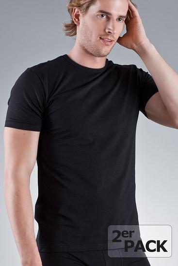 Abbildung zu T-Shirt, 2er-Pack (2245812P) der Marke Jockey aus der Serie Modern Stretch - Mehrpack