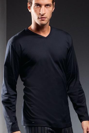 Abbildung zu Shirt langarm (20720) der Marke Mey Herrenwäsche aus der Serie Lounge