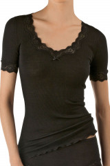 Calida Shirt kurzarm, Schwarz, ArtikelNr 14990