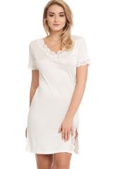Gattina Nachthemd, kurz, Elfenbein, ArtikelNr 390323