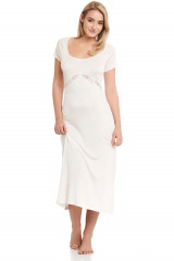 Gattina Nachthemd, lang, Elfenbein, ArtikelNr 390326
