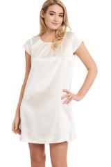 Gattina Nachthemd, kurzarm, Elfenbein, ArtikelNr 381423