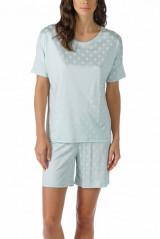 Mey Damenwäsche Pyjama kurz, Grün, ArtikelNr 13106