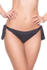 Watercult Bikini-Slip mit Schnüren, Grau, ArtikelNr 265009