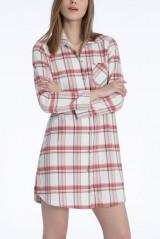 Calida Sleepshirt, Flanell, Mehrfarbig, ArtikelNr 31024