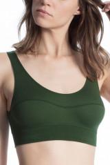 Calida Bustier Elastic, Grün, ArtikelNr 02138
