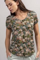 ESSENZA Saona Verano Top Short Sleeve, Grün, ArtikelNr 401279-306