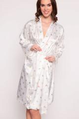 Pip Studio Ninny Moss Kimono, Weiß, ArtikelNr 260859-321