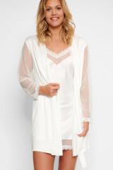 LingaDore Kimono, Weiß, ArtikelNr 5028KM