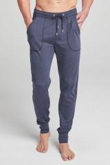 Jockey Pants Knit uni, Blau, ArtikelNr 500754H
